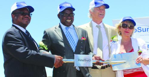 Partnership for the first Solar Power Park in Namibia